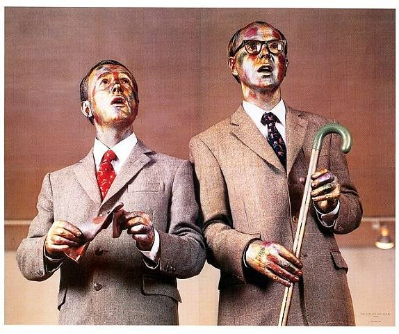 Gilbert and George video stream