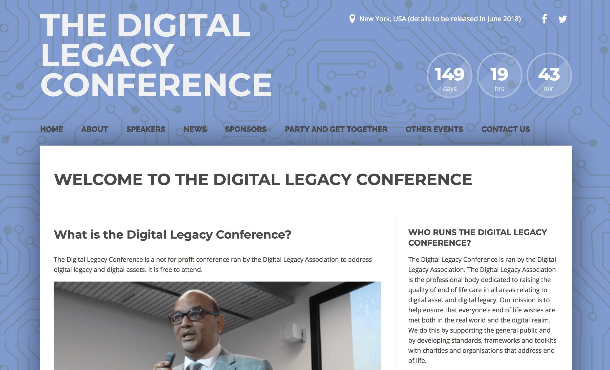 Digital Legacy Conference