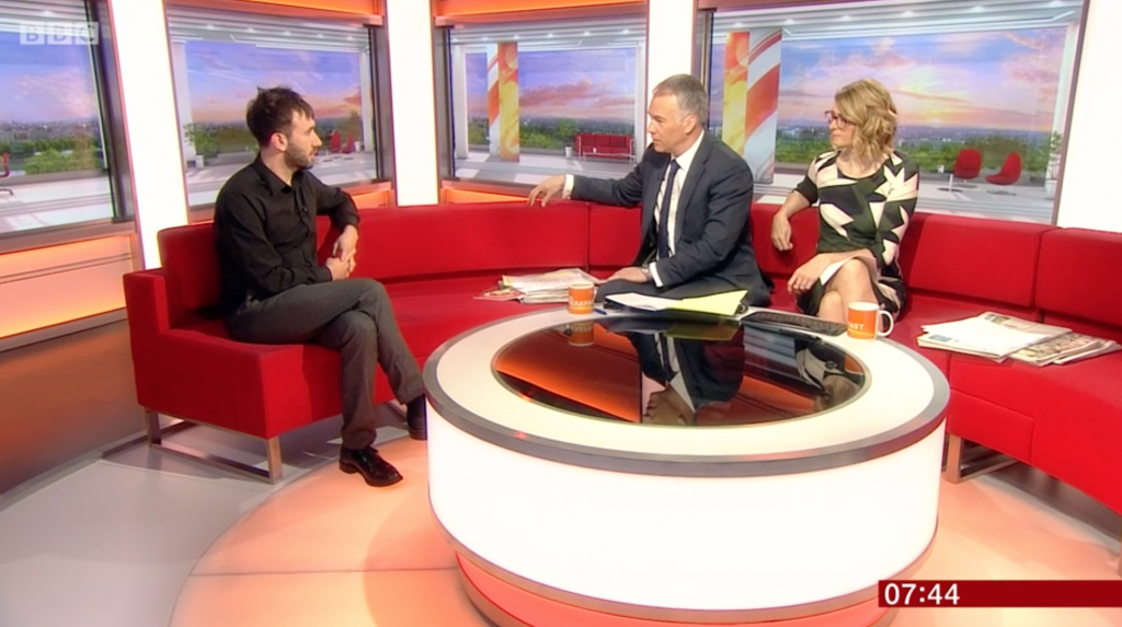 BBC breakfast death digital